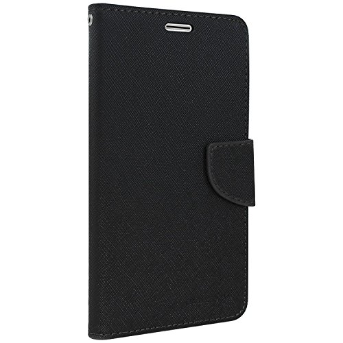 Classico Universal Luxury Mercury Wallet Card Dairy Slot Style Flip Cover Compatible for Panasonic Eluga Icon 2