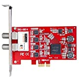 TBS 6814 ISDB-T Quad Tuner PCIe Card TV Turner Live TV Receiver for IPTV Streaming Server