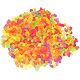 Florescent Shades Multi Color Gravels for Home and Garden, vase Fillers, Table Decor, Aquarium Substrate (0.5 kg)