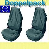 Doppelpack Werkstattschoner Service Schonbezug Autositzschoner Polyester