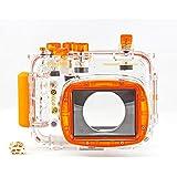hofoo Unterwasser Tauchen 40m/130ft Wasserdicht Kamera Schutzhülle für Nikon P7100