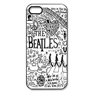 CeeMart Mystic Zone Popular Band The Beatles Pattern Plastic Hard Case for iPhone 5/5S