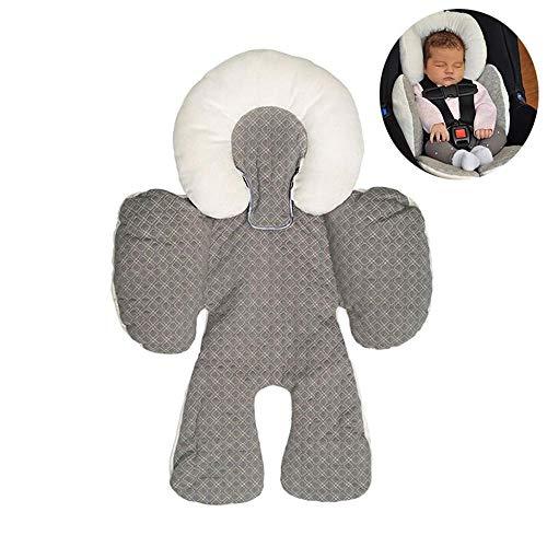 Testa e corpo cuscino di sostegno, Mogoi Infant to Toddler testa, collo e corpo cuscino perfetto per seggiolini auto e passeggini, testa staccabile per versatilità come il bambino cresce