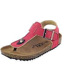 Y-BOA Sandales T-Strap Enfant Scolaire Unisexe Sabot Chaussure Marcher Souple Été Vintage