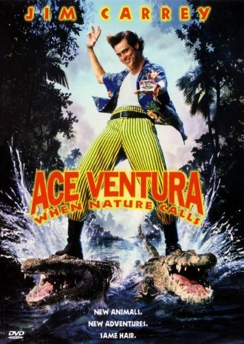 Ace Ventura: When Nature calls Movie poster (27,9x 43,2cm-28cm x 44cm) (1995) (Style B) by decorative Wall poster