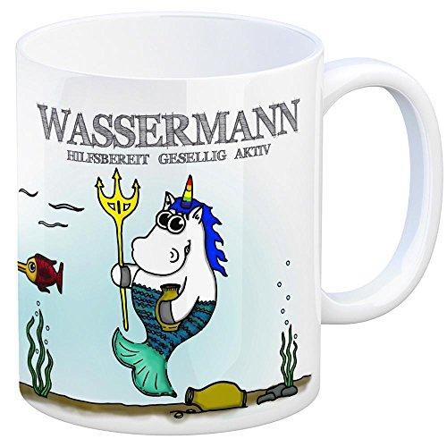 51PuDpdu9VL Sternzeichen Wassermann Kaffeetasse Becher Tasse