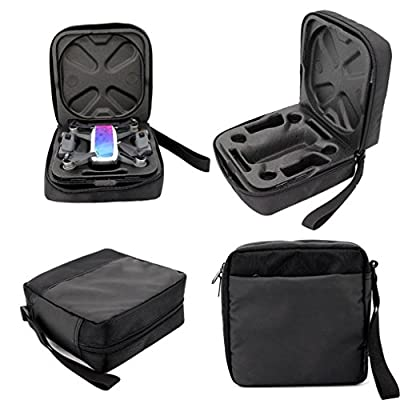 Portable Travel Case for DJI Spark Mini Quadcopter Drone,Bescita Hard Rainproof Case Batteries&Props Organizer Waterproof Outdoor Protection Bag