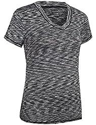 Bivens Camiseta de secado r¨¢pido para mujeres