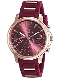 Tommy Hilfiger Analog Red Dial Women's Watch - TH1781744