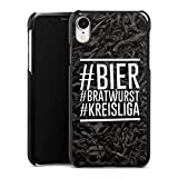 DeinDesign Hülle kompatibel mit Apple iPhone Xr Handyhülle Case Bier Beer Bratwurst