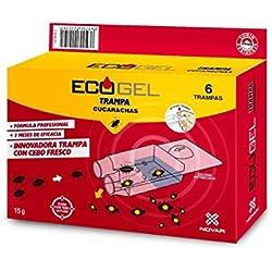 Ecogel 4026 - Trampa contra cucarachas, 15 g