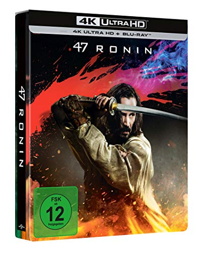 47 Ronin (Limited Steelbook 4K UHD) [Blu-ray]