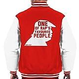 One Of Raps Favourite People Kanye Quote Men's Varsity Jacket