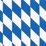 Fabulous Fabrics Baumwollstoff Bayerische Raute -