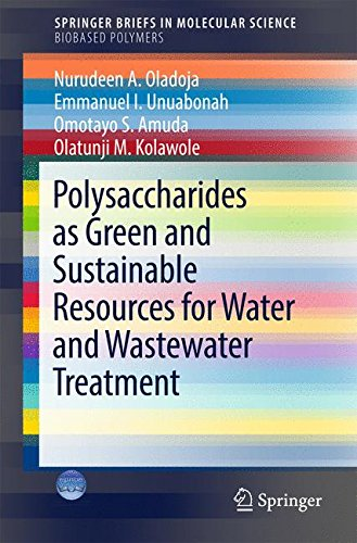 Polysaccharides as a Green and Sustainable Resources for Water and Wastewater Treatment (SpringerBriefs in Molecular Science)
