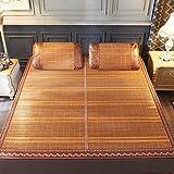 VAIY Sommer-Schlafmatte, Doppelseitig Bambusmatte Kühlmatratzenauflage, Anti Dust Mite, Glatte,...
