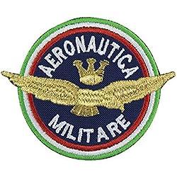 MAREL Patch Aeronautica Militare italiana parche termoadhesivo bordado cm 8x 6,5Replica