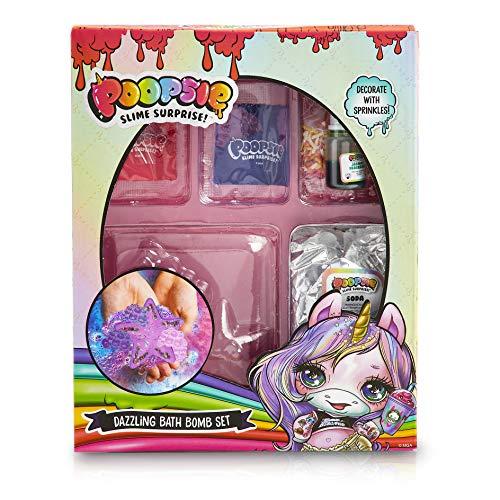 Poopsie Unicorn Slime Kit Bombe da Bagno Fai da Te, Giochi in Scatola per Un Bagno Effervescente e Profumato,, Regali Originali per Bambini da 6-14 Anni