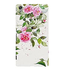 Fuson Designer Back Case Cover for Sony Xperia C6 Ultra Dual (Flower Bloom Blossom Floret Floweret)