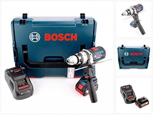 Preisvergleich Produktbild Bosch GSB 18 VE-2-Li 18 V Li-Ion Professional Akku Schlagbohrschrauber in Bosch L-Boxx mit Schnellladegerät und 1x GBA 6 Ah Akku
