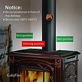 GalaFire – Kaminofen Ventilator Fan Eco Fan - 5