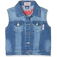 Hkm Niños Jeans–Chaleco de Wendy, Todo el año, Infantil, Color Azul Vaquero, tamaño 122/128