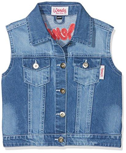 HKM Erwachsene Jeansweste-Wendy-6100 jeansblau122/128 Hose, 6100 Jeansblau, 122/128