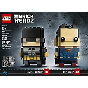 LEGO Brickheadz 41610 Tactical Batman & Superman  LEGO