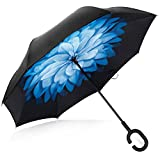 Description  It is 42in for the diameter when open and it is big enough for 2 person sharing.  Multi stylish pattern for your choice. Creative Gift for Your Parents,Friends, Colleague,Lovers etc.  This Cars Reverse Umbrella Is a Necessary Tool for yo...