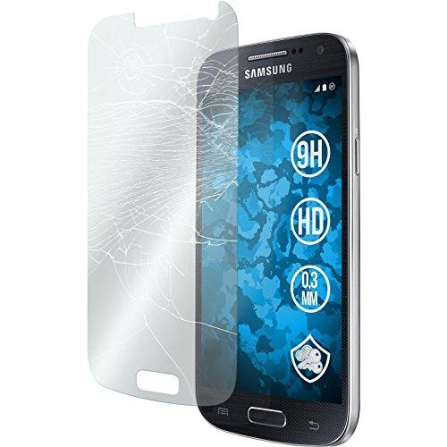 PhoneNatic 2 x Glas-Folie klar kompatibel mit Samsung Galaxy S4 Mini Plus I9195 - Panzerglas für Galaxy S4 Mini Plus I9195