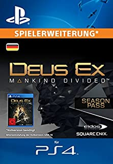 Deus Ex: Mankind Divided - Season Pass [Spielerweiterung] [PS4 PSN Code - deutsches Konto] (B01K8VPACS) | Amazon price tracker / tracking, Amazon price history charts, Amazon price watches, Amazon price drop alerts