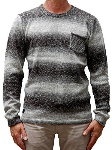 Khujo felpa da uomo Pilar 2134kn163 grigio chiaro L