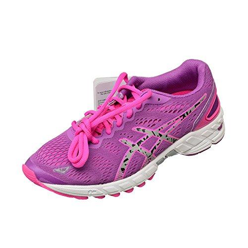 ASICS GEL DS TRAINER 19 NEUTRAL LITE SHOW Chaussures de running asics GRAPE/SILVER/SHARP GREEN
