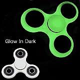 #7: Piras Glow in Dark Fidget Hand Spinner, EDC Spinner Toy, tri-spinner - Hybrid Ceramic Bearing