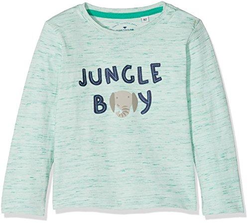 TOM TAILOR Kids Jungen T-Shirts 1/1, Mehrfarbig (Original Multicolored 0004), 92 (Filz-logo-t-shirt)