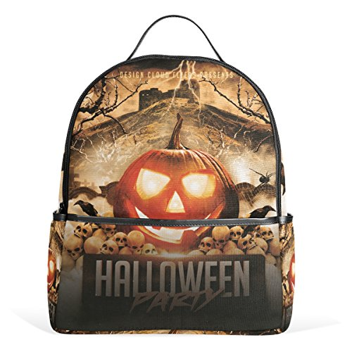 Party Kids School Backpacks Bookbags for Boys Girls Teens (Halloween-partys Für Teens)