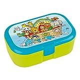 Lunchbox * ARCHE NOAH * für Kinder von Lutz Mauder // Brotdose ohne Namensdruck // Perfekt für Mädchen & Jungen // Vesperdose Brotzeitbox Brotzeit (ohne Namen)