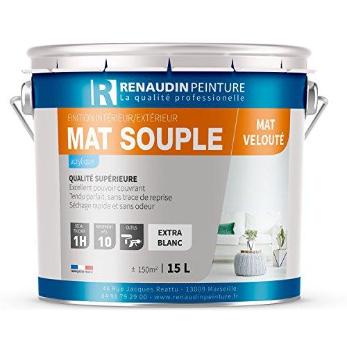 renaudin-peinture-130107-mat-souple-peinture-acrylique-mur-plafond-interieur-finition-mat-blanc-15-l