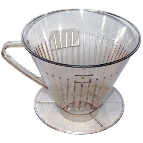 Metaltex 246434080 Kaffeefilteraufsatz Größe 4'