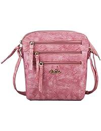 Serra Paris Women's Sling Bag (Available In Dark Tan, Wine, Peach, Light Brown, Rose Pink, Sand, Beige & Yellow)
