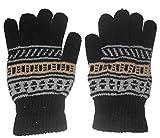 #8: Aadishwar Creations Men's Black woolen Hand gloves-set of 2