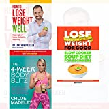4-week body blitz, how to lose weight well, slow cooker soup diet for beginners 3 books collection set - transform your body shape with my complete diet, keep weight off forever, slow cooker soup