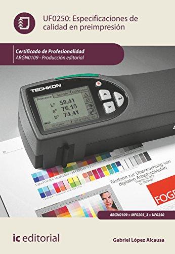 Especificaciones de calidad en preimpresión. ARGN0109 por Gabriel López Alcausa
