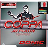 Donic Coppa Jo Platin Table Tennis Rubber (Red)
