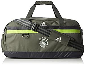 adidas DFB Teambag Away Sporttasche Deutschland EM 2016, Grün/Grau, 29 x 60 x 29 cm, 50 Liter, AH5740