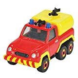 Dickie Toys Feuerwehrmann Sam - Mini Die Cast Serie - Feuerwehrauto Venus