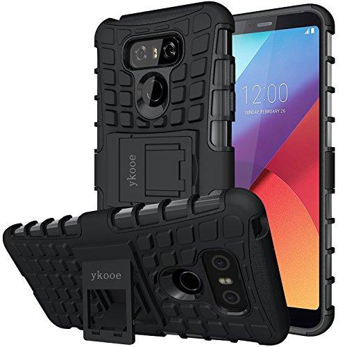 Coque LG G6, Bouclier Série smartphone Etui Housse Anti-Slip LG G6 Coque de Protection en TPU avec Absorption de Choc Béquille et Anti-Scratch