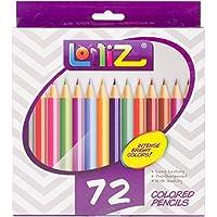 LolliZ® Set da 72 Matite Colorate