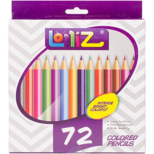 LolliZ® Set da 72 Matite Colorate