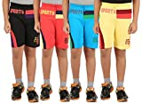Zippy Boy's Multicolor Shorts (Pack of 4...